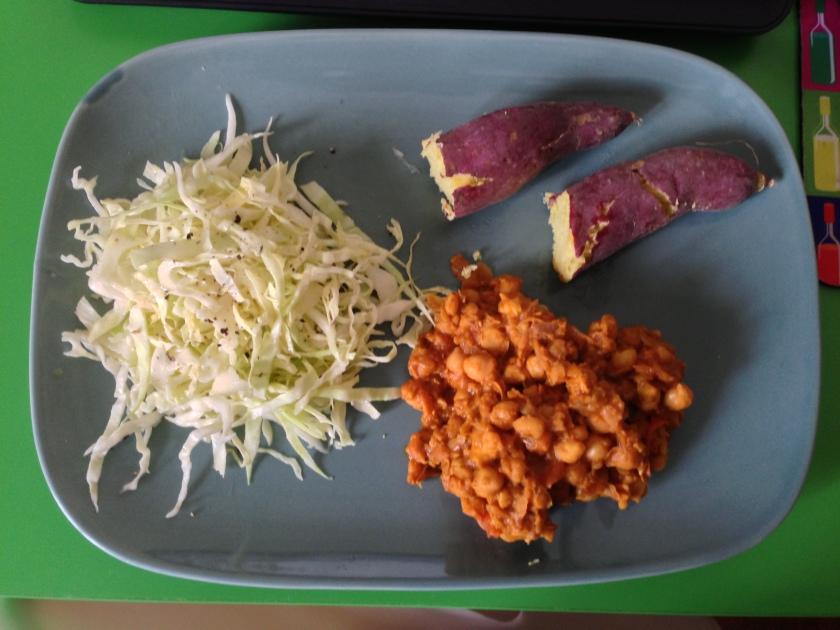 Channa Masala Dinner