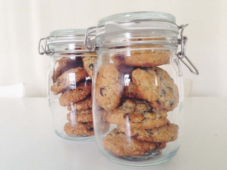 Chocolate Chip (and then some) Cookies