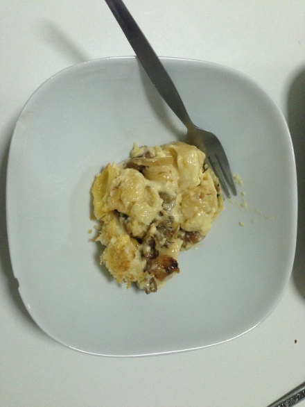 Vaguely Awesome Pasta Cheese Mess