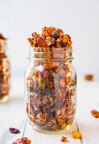 Big Clusters Maple Cinnamon Chocolate Chip Granola