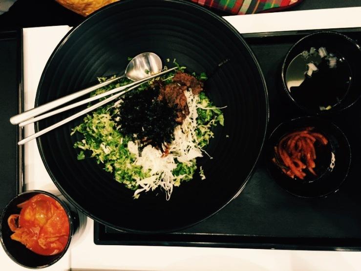 Paik's Bibimbap-Beef Bulgogi Bibimbap (S$8.50)