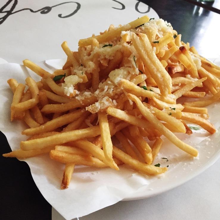 Famed truffle fries