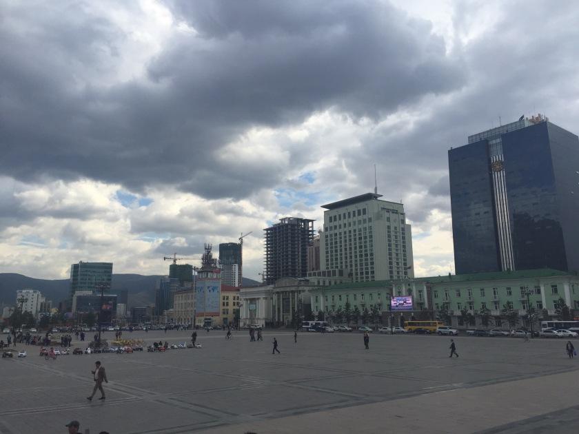 Sukhbaatar Square - lightly edited