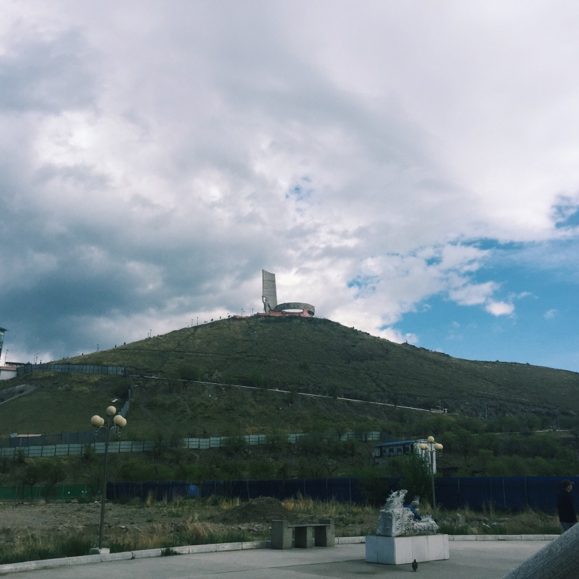 Soviet WWII War Memorial on what used to be the highest hill in Mongolia. Processed with a VSCO filter